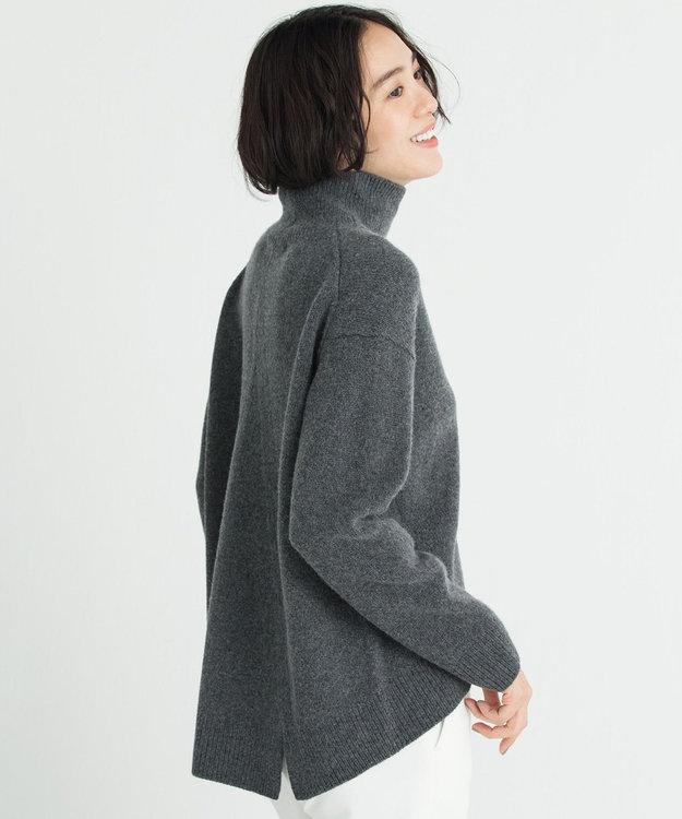自由区 【マガジン掲載】ウールカシミヤ プルオーバーニット(検索番号R49)