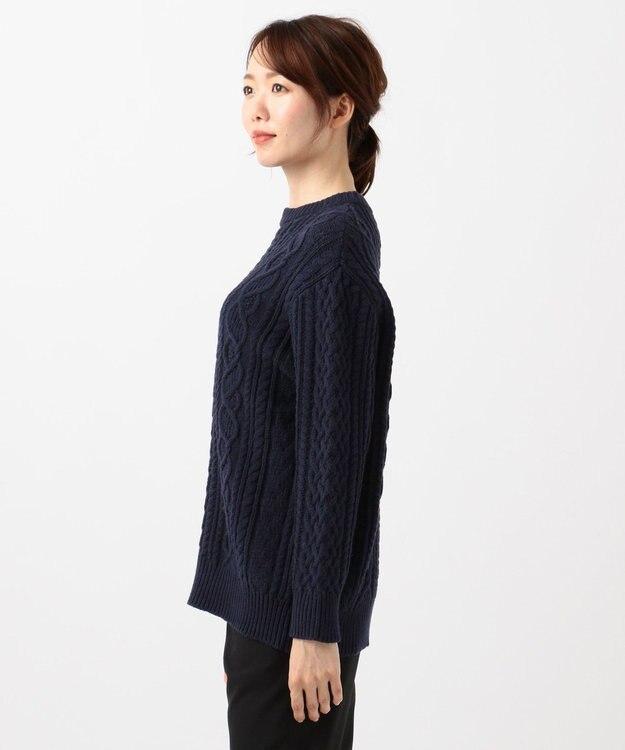 23区 【マガジン掲載】アランパターン ニット(検索番号K49)