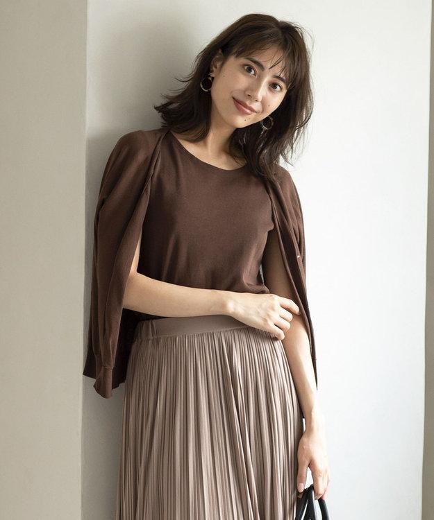 any SiS S 【美人百花10月号掲載】2SET シアードルマン ツインセット