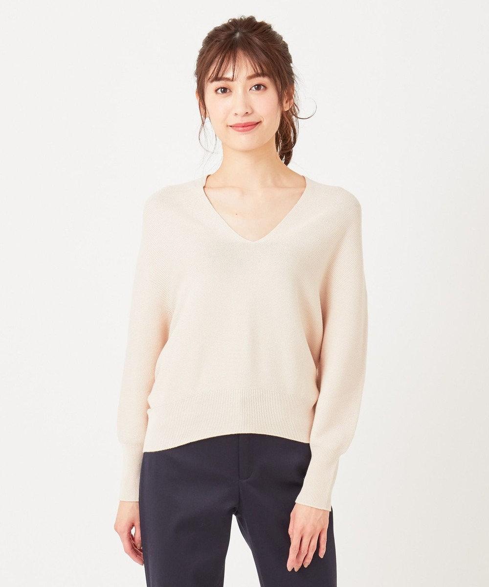 any SiS L 【Ray5月号掲載】ホールガーメント ニット アイボリーベージュ