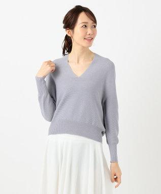 any SiS L 【Ray5月号掲載】ホールガーメント ニット スモーキーブルー