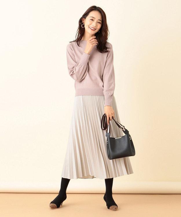 any SiS 【洗える】クリスタル ニット
