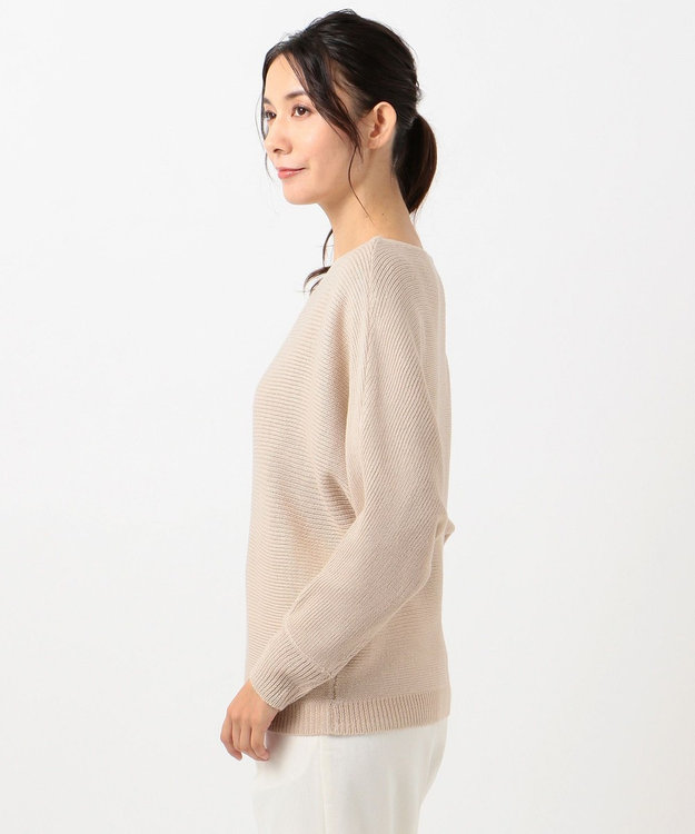 any SiS L 【洗える】カラフルドルマン ニット