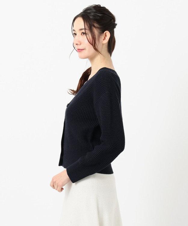 any SiS 【洗える】ローゲージ カーディガン