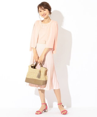 any SiS S 【追加生産決定!】泉里香さん着用 コンパクト カーディガン ピンク系