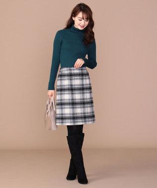 any SiS 【洗える】イタリーヤーン リブタートル ピーコックグリーン系