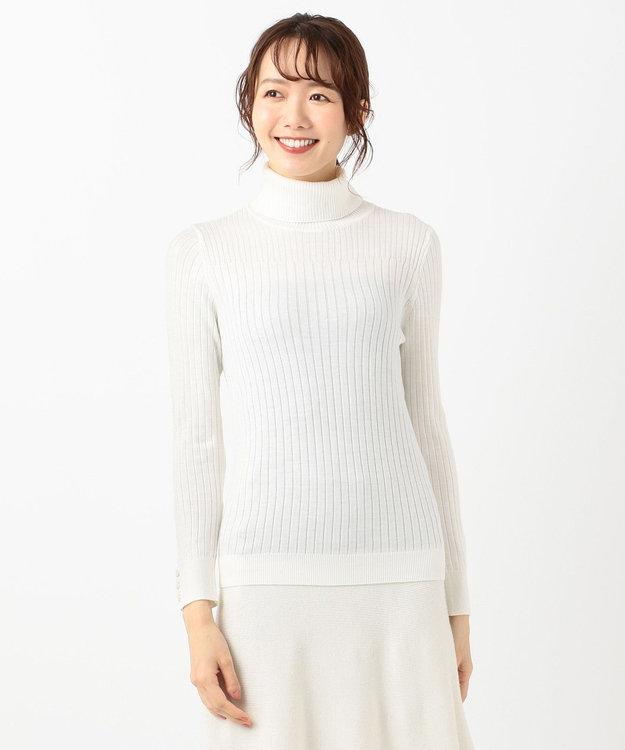 any SiS 【洗える】イタリーヤーン リブタートル