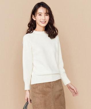 any SiS L 【洗える】MOCHIMOCHI ニット アイボリー