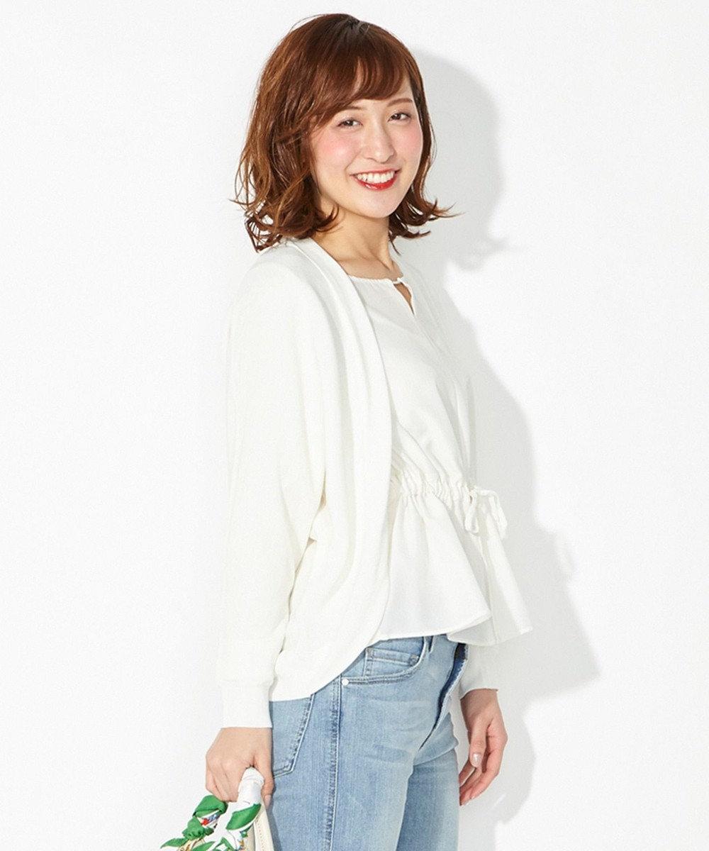 any SiS 【2018初夏のWEB限定カラー】シアードルマン カーディガン ホワイト系