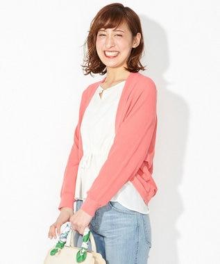 any SiS 【2018初夏のWEB限定カラー】シアードルマン カーディガン ローズ系