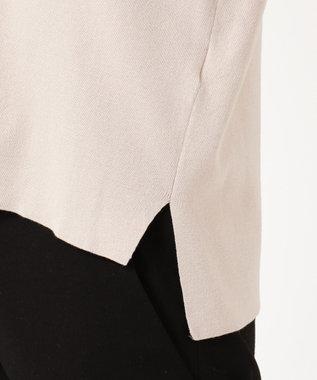 組曲 S 【大好評につき再販決定!】ストレッチニットパーカー アイボリー系