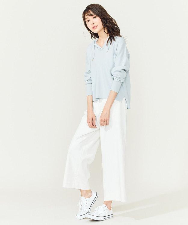組曲 S 【大好評につき再販決定!】ストレッチニットパーカー