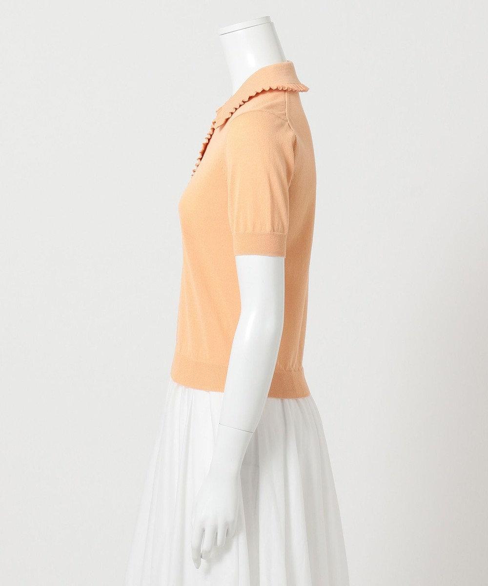 組曲 【Rythme KUMIKYOKU】Mademoiselle ポロシャツ ベージュ系