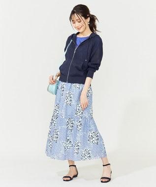 組曲 S 【夏の羽織に最適!】ラミーハイゲージ パーカー ネイビー系