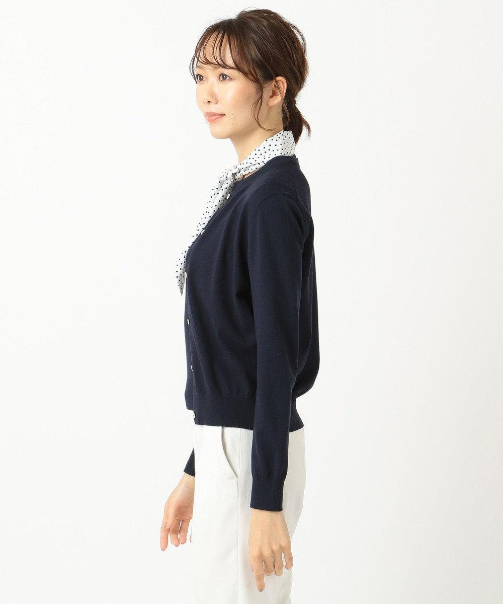 組曲 S 【セットアイテム】スカーフツインニット ホワイト系