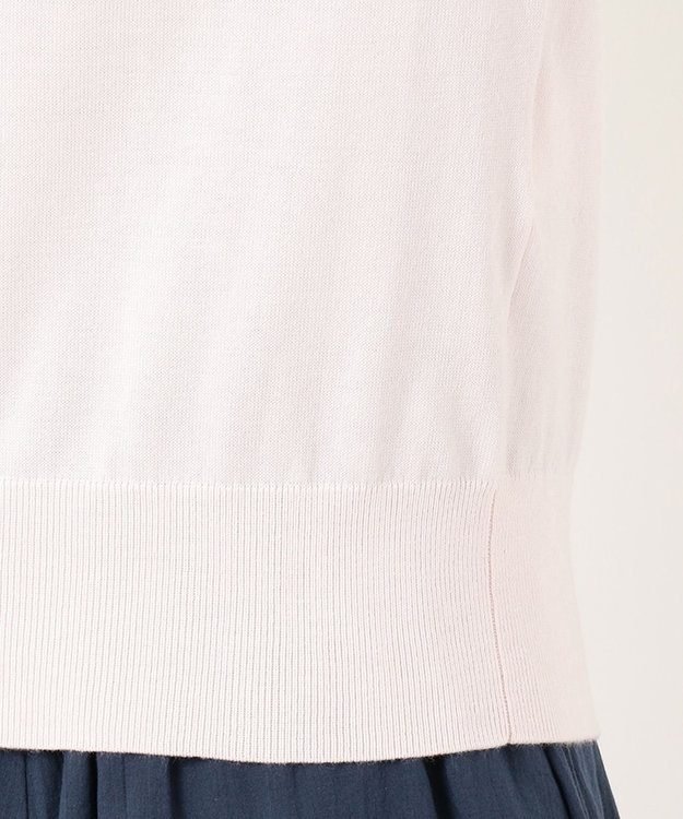 組曲 【洗える】アメリカンシーアイランドコットン 半袖プルオーバー