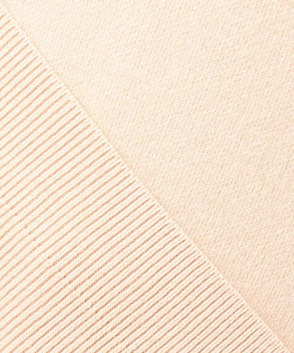 組曲 S 【カシミヤ混】スムース ニット スウェット ピンク系