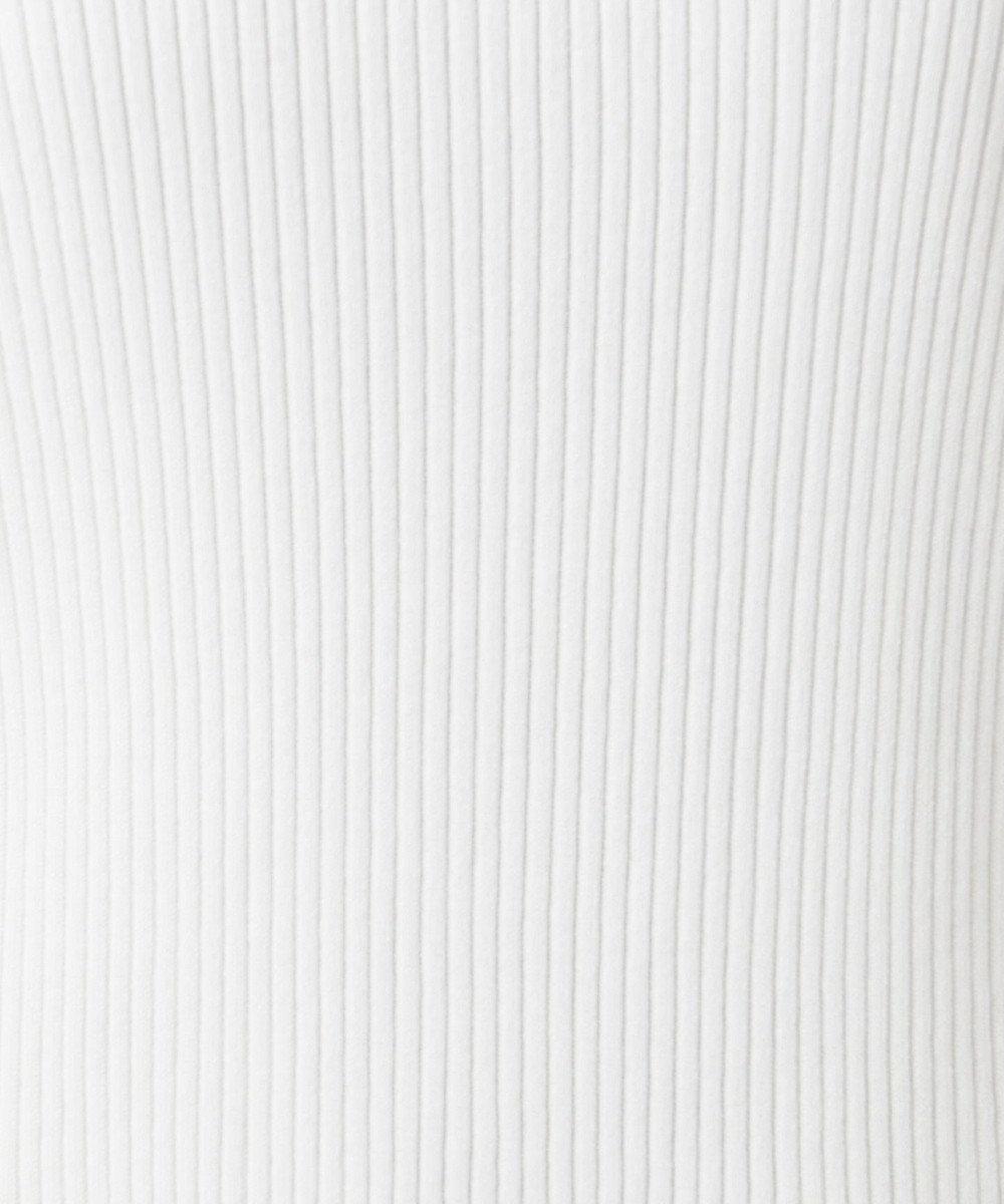 組曲 S 【Oggi5月号掲載】コットンアセテート フレンチスリーブプルオーバー ホワイト系