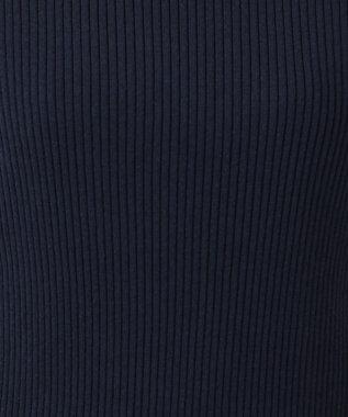 組曲 S 【Oggi5月号掲載】コットンアセテート フレンチスリーブプルオーバー ネイビー系