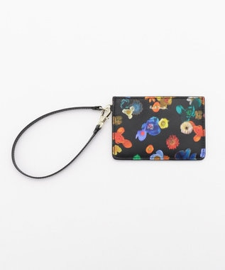 Paul Smith FLORAL RIVER パスケース ブラック系