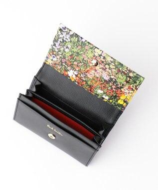 Paul Smith 【WEB限定カラーあり!】ガーデンフローラルトリム カードケース ブラック系