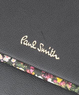 Paul Smith 【WEB限定カラーあり!】ガーデンフローラルトリム 3つ折り財布 ブラック系