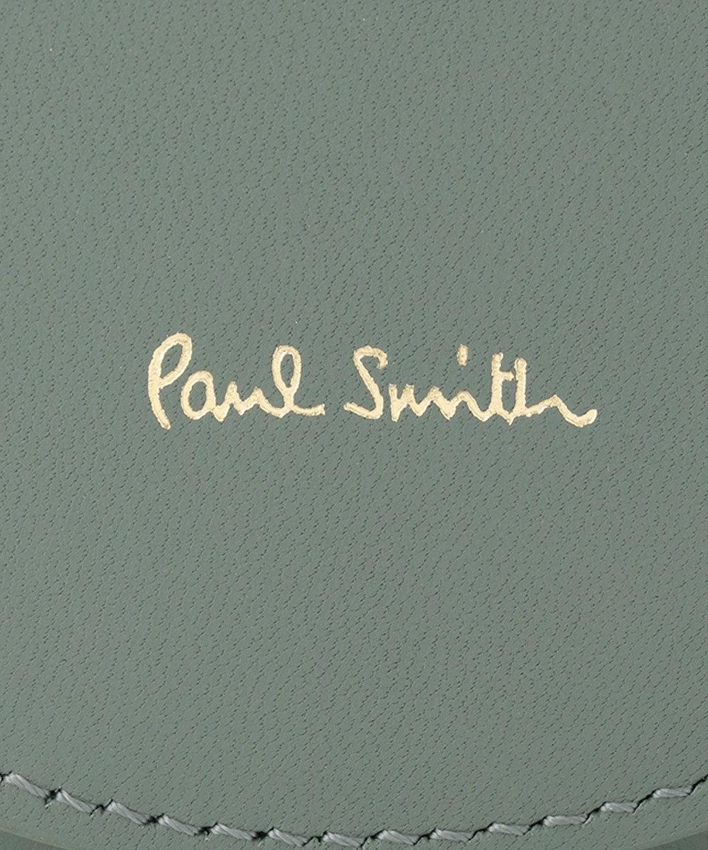 Paul Smith フェイスグループ コインケース グリーン系