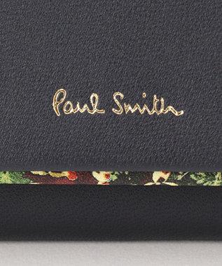 Paul Smith 【WEB限定カラーあり!】ガーデンフローラルトリム カードケース ネイビー系