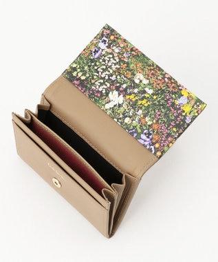 Paul Smith 【WEB限定カラーあり!】ガーデンフローラルトリム カードケース ベージュ系