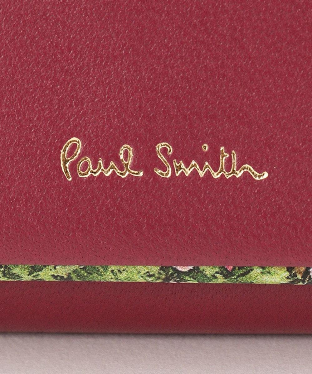 Paul Smith 【WEB限定カラーあり!】ガーデンフローラルトリム キーケース ワイン系