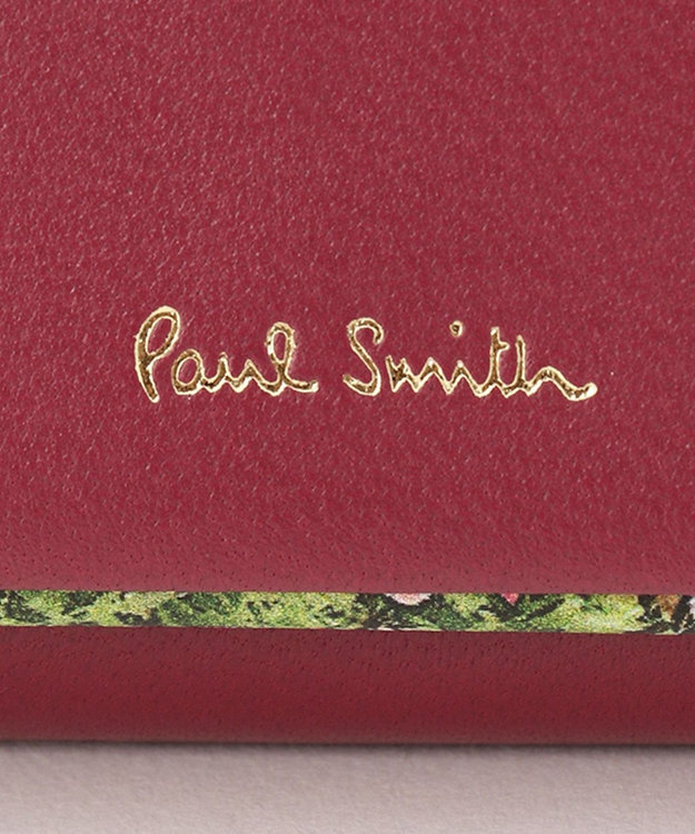 Paul Smith 【WEB限定カラーあり!】ガーデンフローラルトリム キーケース
