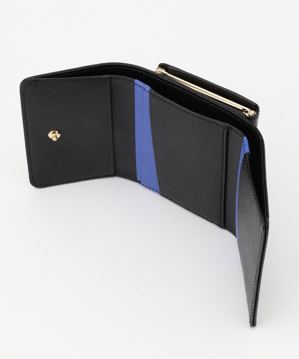 Paul Smith スミシーハート 3つ折り財布 ブラック系