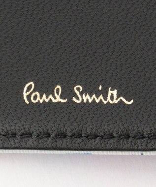 Paul Smith スタンププリント キーケース ホワイト系9