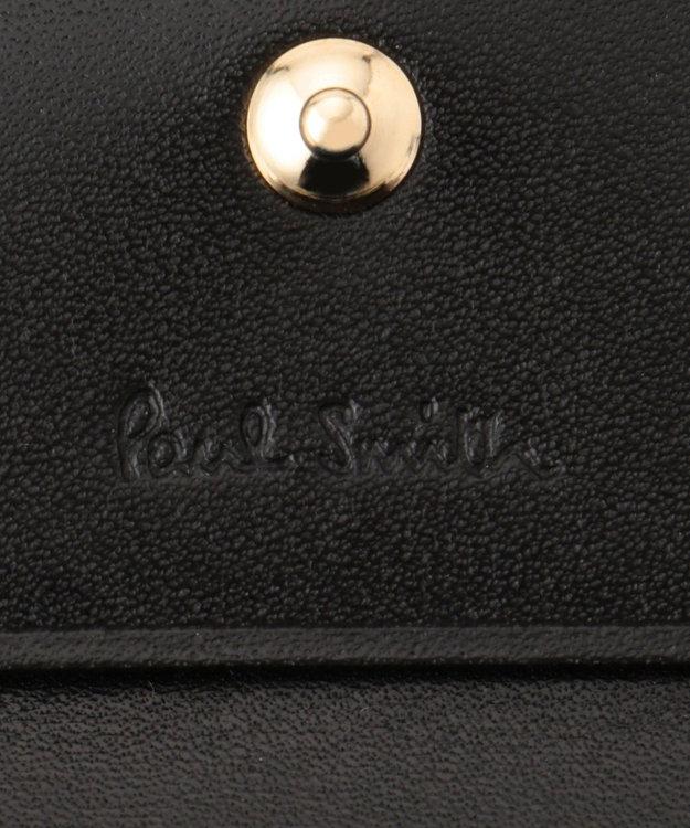 Paul Smith カラーミックスラブレター カードケース ワイン系