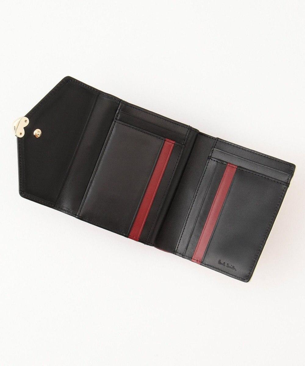 Paul Smith カラーミックスラブレター 2つ折り財布 ワイン系