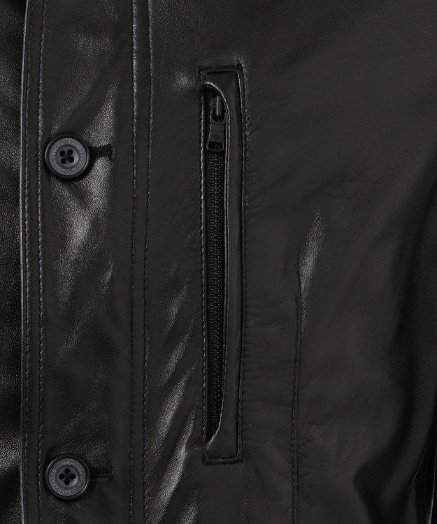 JOSEPH ABBOUD 【キングサイズ】撥水レザー ジャケット