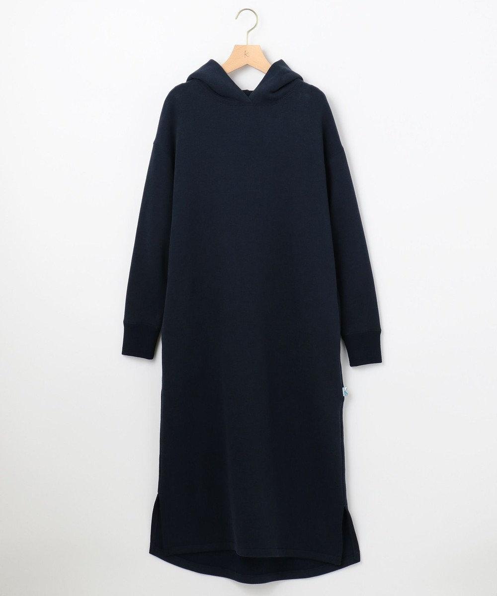 組曲 【東原亜希さん着用・KMKK】リヨセルコットンウラケ ワンピース(KJ29) ライトグレー系