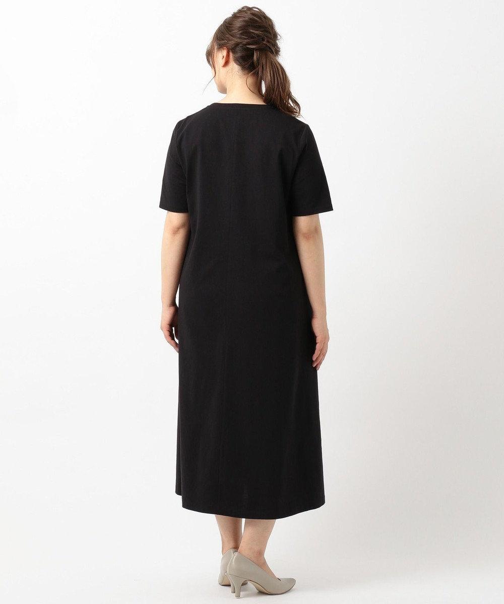 ICB L 【WEB限定カラー】Premium Cotton Jersey ワンピース ブラック系