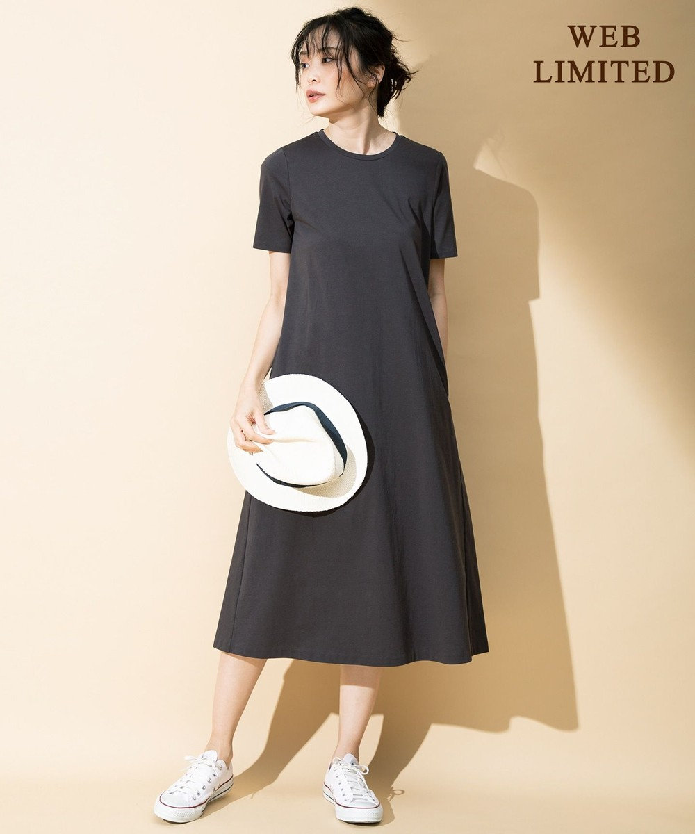 ICB L 【WEB限定カラー】Premium Cotton Jersey ワンピース [WEB限定]ブラウン系
