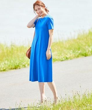 ICB L 【WEB限定カラー】Premium Cotton Jersey ワンピース ブルー系