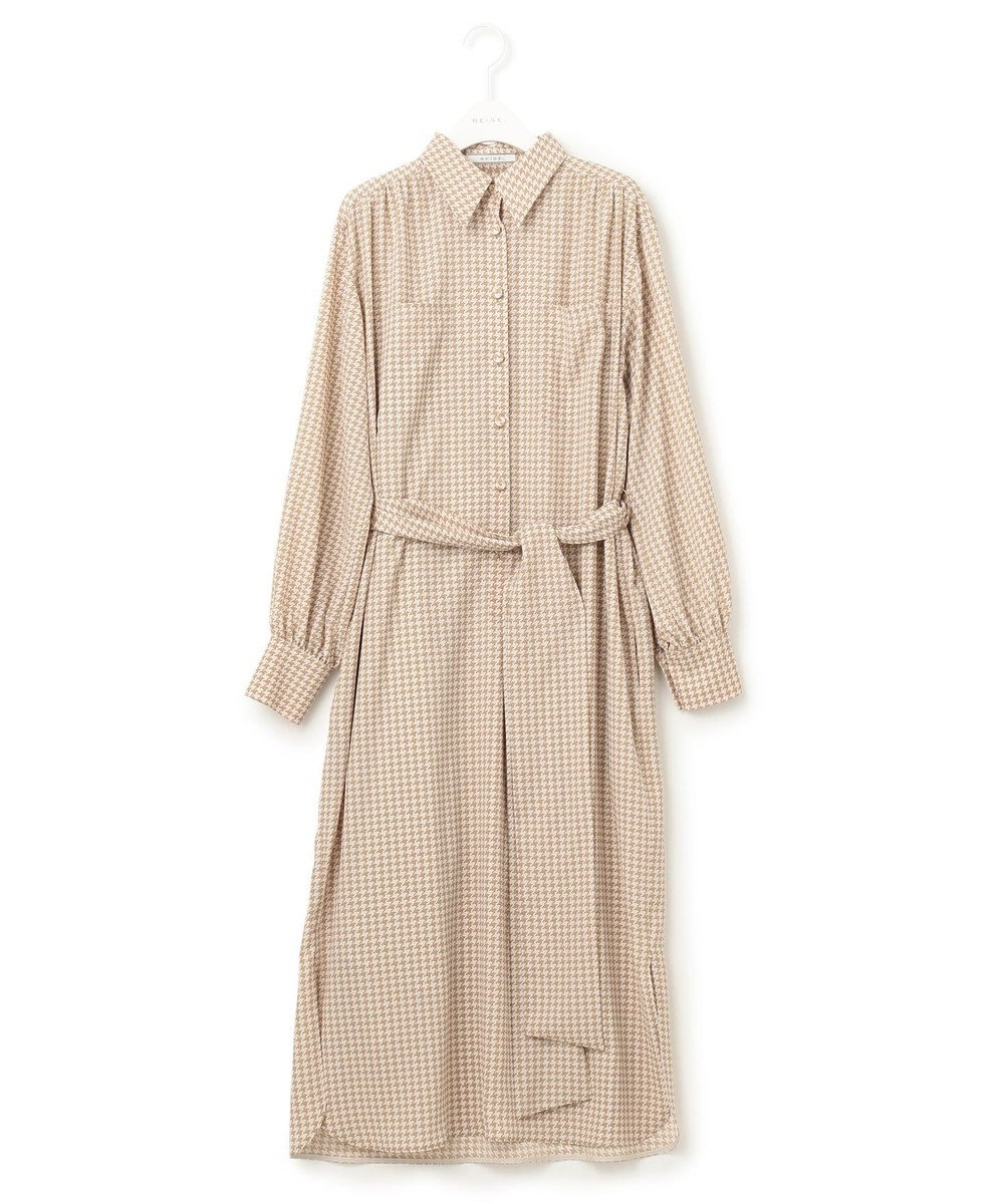 BEIGE, PEWSEY / ワンピース Camel × Nude