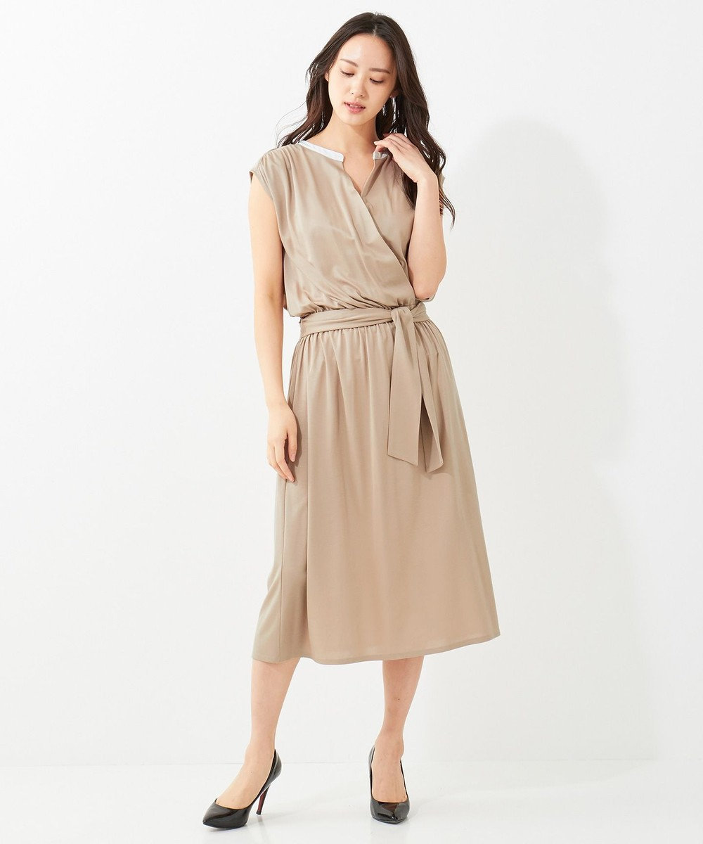 BEIGE, 【S-size】LITEIN / ワンピース[Cool Touch] Camel