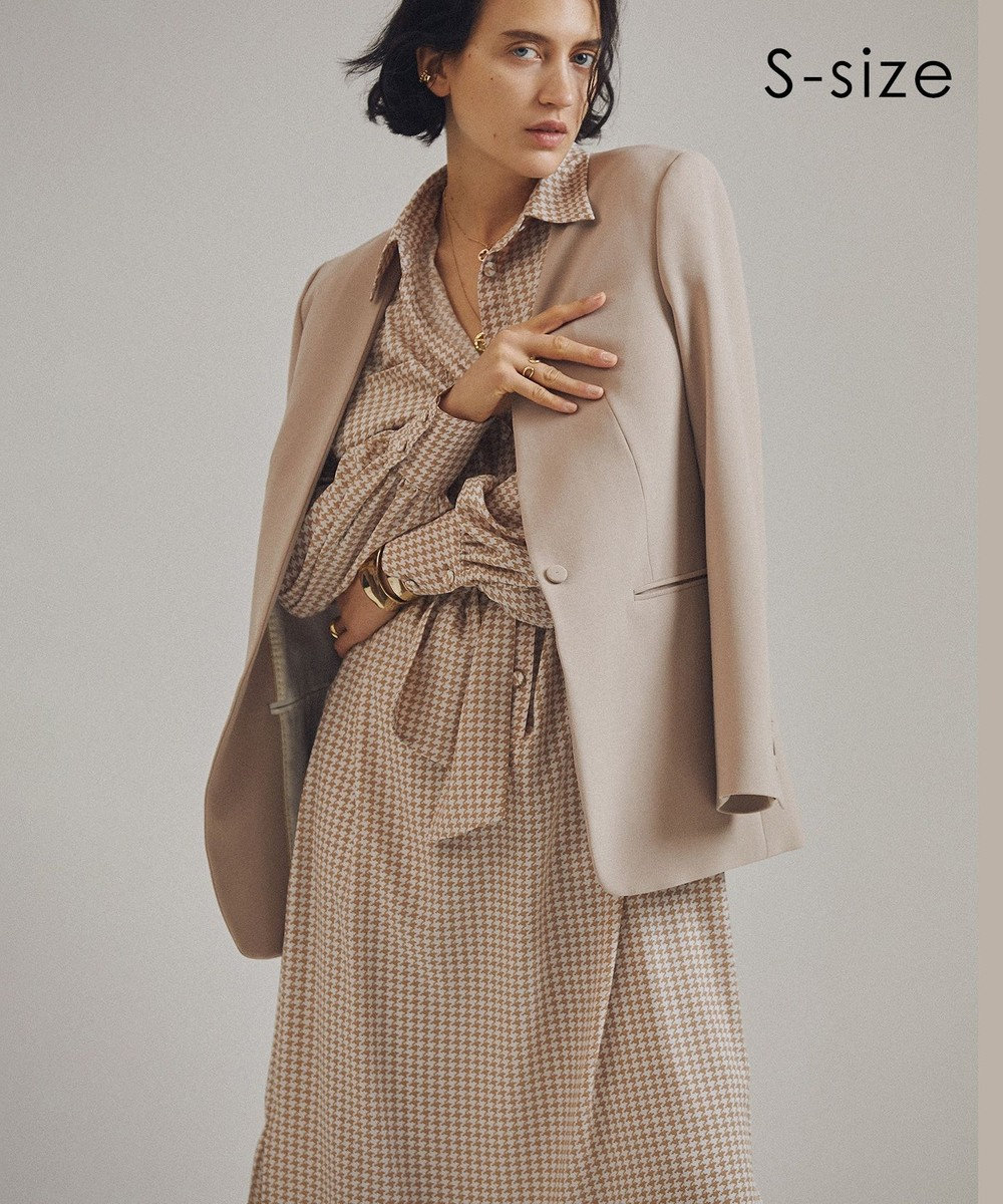 BEIGE, 【S-size】PEWSEY / ワンピース Camel × Nude