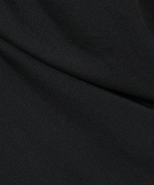 ICB L Tricot Chiffon ワンピース ブラック系