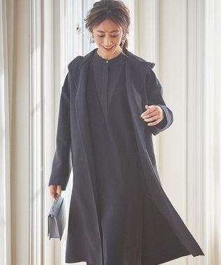 ICB 【VERY3月号掲載・VERYコラボ】Double Cloth Combo ワンピース ネイビー系