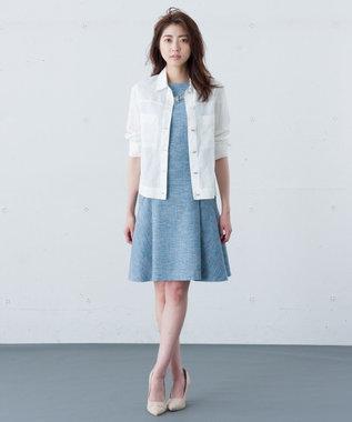 ICB 【セットアップ可】Cool Heather ワンピース サックスブルー系9