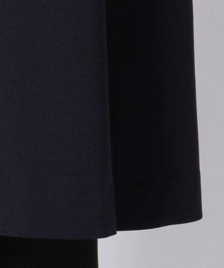 ICB ('17春)Drape Back Satin フィット&フレアドレス ネイビー系