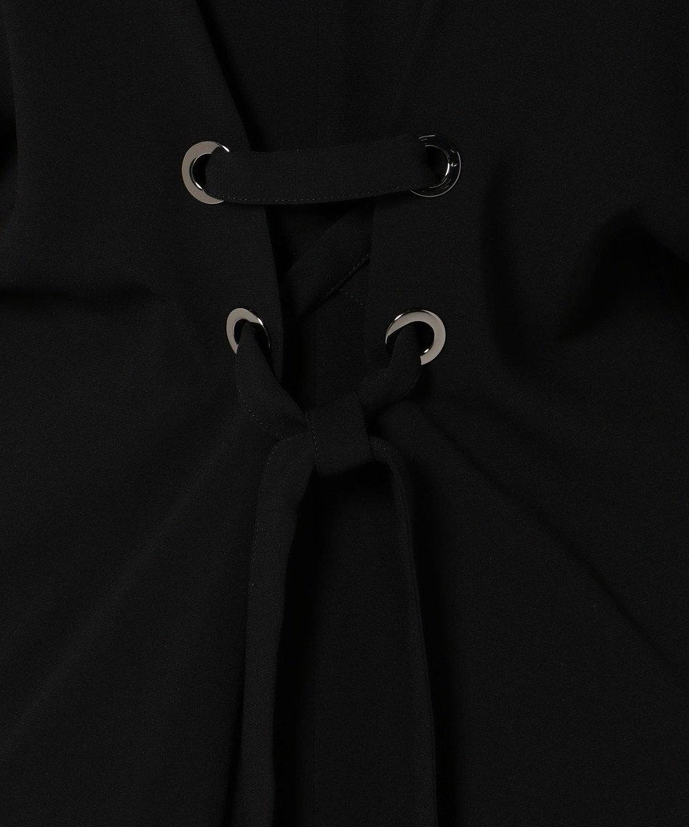 ICB ('17春)【Domani4月号掲載】TA Back Satin ワンピース ブラック系