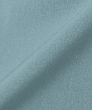 ICB 【Utilism】リネンライク シャツ ワンピース ニュアンスブルー系