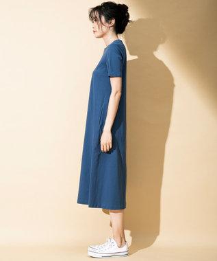 ICB L 【WEB限定カラー】Premium Cotton Jersey ワンピース [WEB限定]ダルブルー系